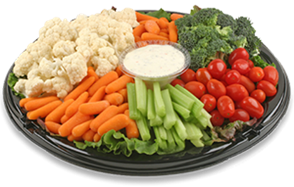 Fresh Vegetable Crudité Platter